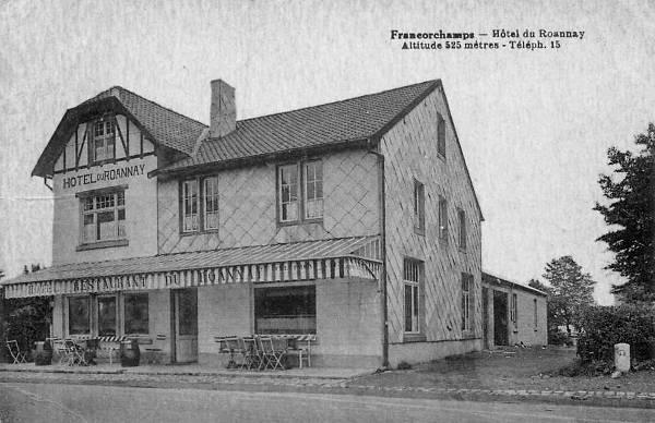 Carte postale: 1930: l'hôtel du Roannay