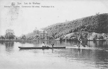 1900:  Le lac de Warfaaz (carte postale)