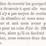 Un extrait d'une note de Jean-Baptiste Romain, adressée le 29 novembre 1894 aux autorités communales spadoises.