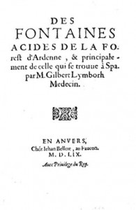 Page de titre du livre de Lymborh (collection Fonds Body - Spa)
