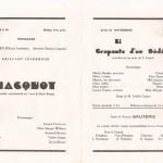 Marteau1946:page intérieure du programme du Grand Concert du dimanche 24 mars