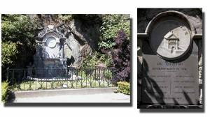 Le monument aux créateurs des promenades de Spa