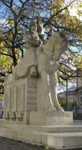 Le monument des Lanciers