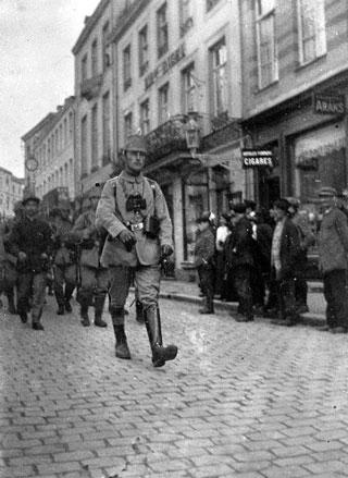Mr Monville, otage en 1914