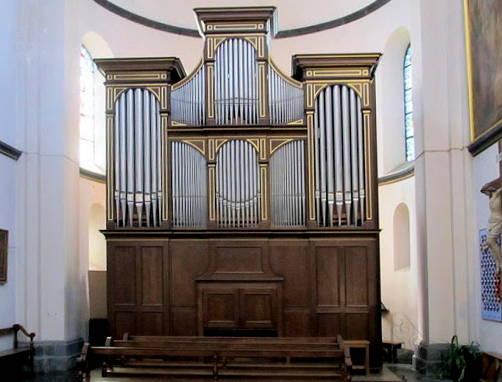 L'orgue de l'église de Spa, réalisé par la manufacture Thomas