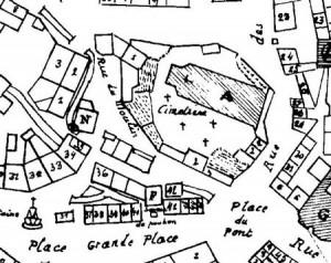 Le plan des Frères Caro de 1770