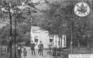 Le Pouhon de Malmedy ou Pouhon des Iles (carte postale)