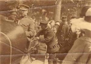Le roi Albert à Spa, le 13 juin 1919 (photo collection L. Orval)