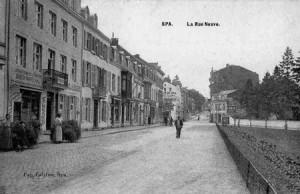 La mercerie de la famille Krins se trouvait à l'emplacement du premier immeuble à gauche.