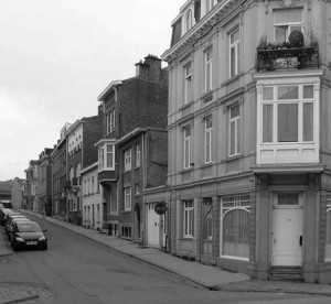 La rue de Renesse