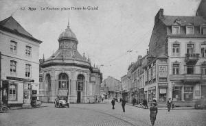 La maison du coin de la rue Rogier abrite une parfumerie