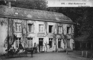 1920 : l'Hôtel de la Sauvenière (carte postale)