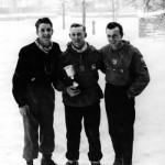 Critérium du Sanglier (20/2/1955) : 1er R. Gillard, 2ème A. Emonts, 3ème H. Herman