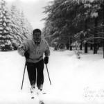 Février 52 : Charles Herman en plein effort
