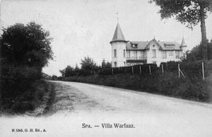 Villa Emmy ou Villa Warfaaz appelée également Château Warfaaz ou Château d'Artet