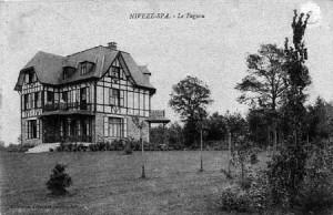 Villa « Le Fagnou » en 1908 (carte postale)