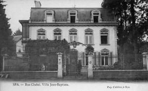 La villa Jean- Baptiste au début du XXeme siècle