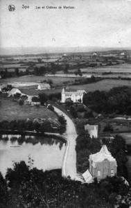 1904, la Villa Emmy appelée  également Château Warfaaz  (collection X. Coibion)