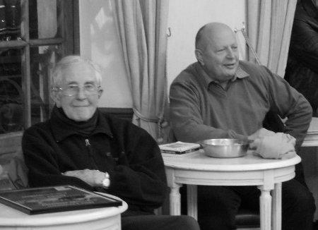 M  Jean Lucas ( à gauche) et M. Vercammen (à droite)