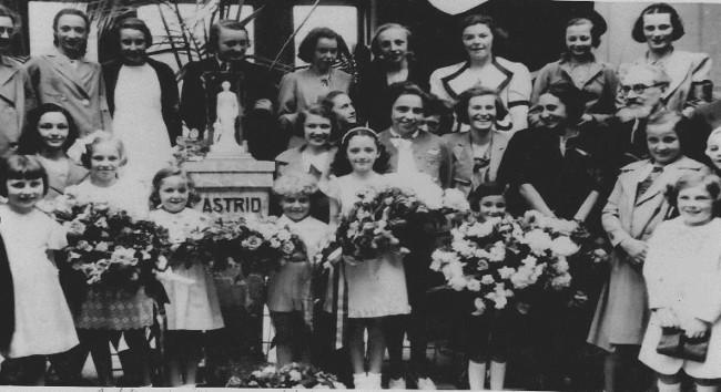 Photo de groupe : 1938