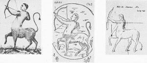 La bête de Staneux (Extrait de «Retrouvailles imagées – Polleur», J.  Grosdent)