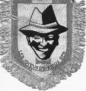 Fanion des « Joyeux du Vieux Spa » Société active dans les années 1960-1970 (Collection Jean-Marie Mels)
