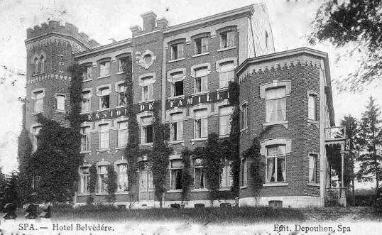 L'hôtel Belvédère