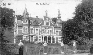 Villa «Les Sorbiers» vers 1910 (carte postale)