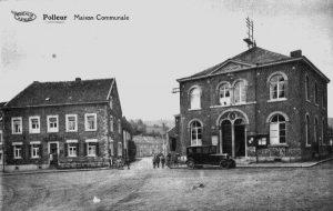 Carte postale: 1925: la maison communale construite en 1852